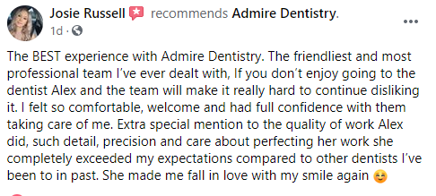 Admire Dentistry title=